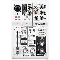 Yamaha - AG03 - Interface Audio et Mixeur combiné - USB 2.0