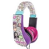 Barbie Kid Safe sur l'oreille casque W/Limiteur de volume (30359)