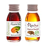 Huile de fourmis 30 ml + huile de souchet 60 ml (les deux produits naturel anti poils les plus efficace dans ce pack)