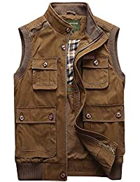 571e6767f28fbd Hling Herbst Baumwolle Safari Waistcoat Pocket Outdoor Multi Weste Rmellose  Jacke Jungen Casual Vest Gilet