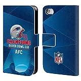 Officiel NFL New England Patriots 5 2019 Super Bowl LIII Champions Étui Coque De...