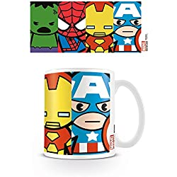 Pyramid International Marvel Kawaii - Taza Avengers, 320 ML