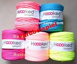 Marianne hobby hoooked-zpagetti-adhésive 120lfm/x-coloris fluo