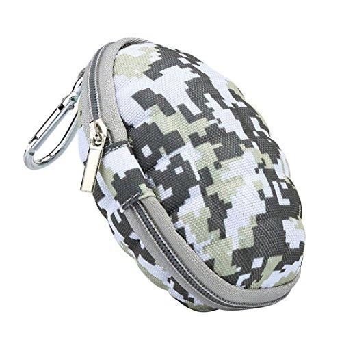 Kolylong Camouflage Protect Bag Box Case For Hand Spinner EDC Fidget Spinner Focus Gyro Toy Dustproof earphone case (C)