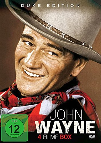 John Wayne - Duke Edition - 4 Filme-Box