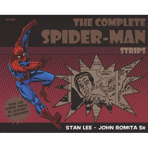 The Complete Spider-Man Strips, Tome 1 : 03/01/1977 - 28/01/1979