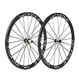 VCYCLE Kohlenstoff Laufradsatz 700C 38mm Röhrenförmig UD Matt Fahrrad Shimano Ultra Leicht 1190g