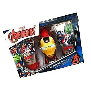 Marvel Avengers | Iron Man | Shower Gel | Bubble Bath | Shower Gel | Gift Set (Iron Man)