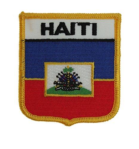 Yantec Wappenpatch Haiti Aufnäher (Patch Haiti Fahne)