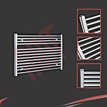 900mm w x 600mm h radiateur sche serviettes plat chrom - Seche Serviette Orizontale Argeant