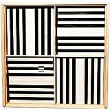 La planchette magique Kapla Boite 100 pieces Noir et Blanc