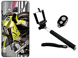 APE Back Cover and Selfie Stick for Samsung Galaxy Z3