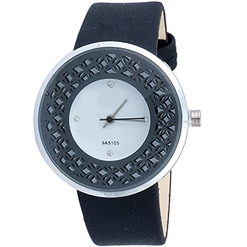 Super Drool ST2943_WT_BLACK  Analog Watch For Girls