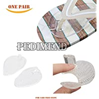Preisvergleich für pedimedn Silikon selbstklebend Sandale Protektoren–Zehenschutz Kissen–Vorderfuß Einlegesohlen Pads–Selbstklebend...