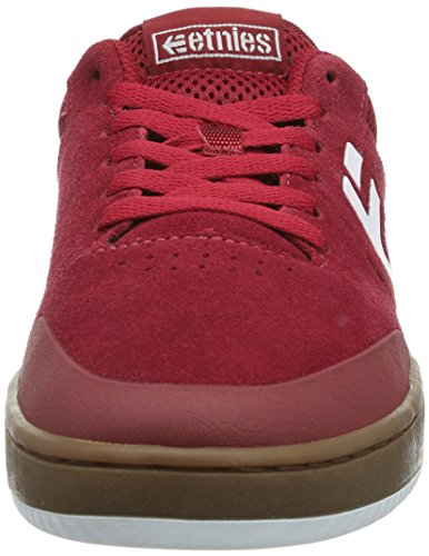 Etnies Marana, Chaussures de skateboard homme Rouge (619/Red/White/Gum)