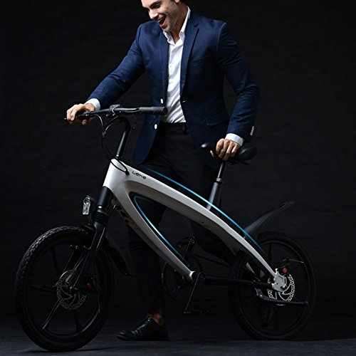 51zeBL87XZL. SS500  - GTYW Electric Bicycle Mountain Bicycle City Fashion Simple Moped Removable Lithium Smart -Built-in Bluetooth Stereo Mountain Bike