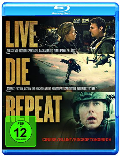 Edge of Tomorrow - Live.Die.Repeat [Blu-ray] -