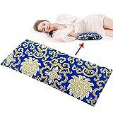 Rosseae Lumbal Pillow - Schlafende Bett-Taillen-Auflage - Taillen-Auflage - Erwachsenes schlafendes Taillen-Kissen - lumbale Disk-Auflage (Farbe : Dunkelblau, Größe : Waist pad)