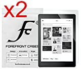 Forefront Cases Pack de 2 Films de Protection D'Écran pour Kobo Aura One Liseuse (Sorti en Septembre 2016) [Pack de 2]