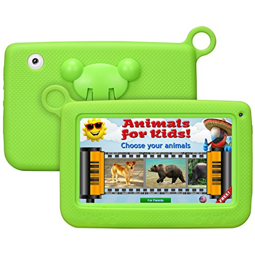 Kinder tablettetactile kivors 7Pounce Tablet PC 8G ROM Android 4.4Quad Core 1.0GHz Tablet für Kinder grün grün