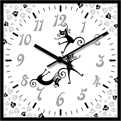 Modern Silent Quart Non-ticking Decoration Wall Clock (OR012)