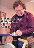 Schnitzwerkzeuge richtig schärfen mit Wolfgang