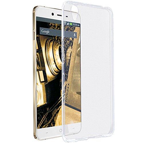 tomaxx Schutzhülle OnePlus X Hülle Transparent