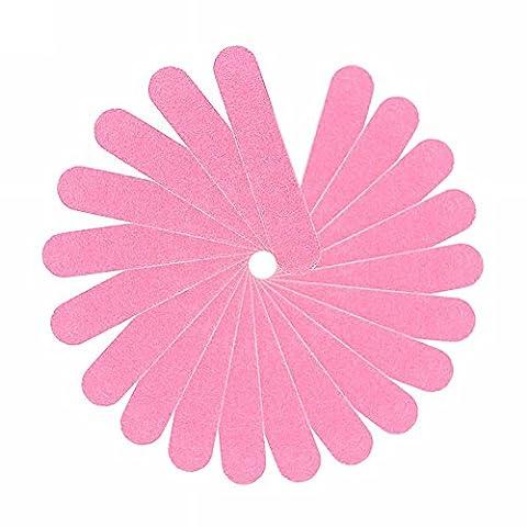 Pinzhi®20 Pcs Trendy Pink Nail Manicure Buffer Sanding Files Buffing