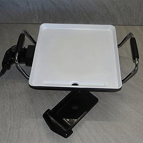 Plancha eléctrica de cerámica, 27,5 x 27,5 cm