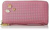 Fossil Damen Geldbörse– Emma Rfid Clutch, Pink (Pink), 2.54x11.11x20 cm