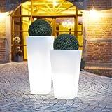 Quadro Light 40cm x 40cm x 75cm Beleuchteter Pflanzkübel - 3