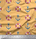 Best Nautica Quilts - Soimoi Arancia Velluto Tessuto anulare e Gancio di Review