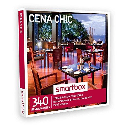 SMARTBOX – Caja Regalo – CENA CHIC – 340 restaurantes con estilo y cocina de autor en España, Andorra y Portugal