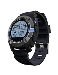 AKBNSTED S928 GPS Tracker Outdoor Sports Waterproof Heart Rate Monitor Bluetooth Pedometer Smartwatch For IOS...