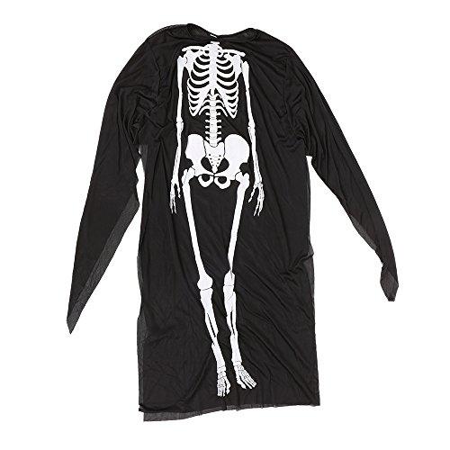Imagen de decdeal  disfraz de esqueleto para halloween mascarada cosplay, unisex hombre, mujer  alternativa