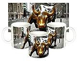 Toro De Wall Street Charging Bull Nueva York New York City Ny Manhattan Tasse Mug