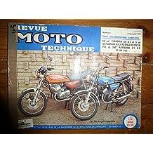 RMT0009 REVUE TECHNIQUE MOTO - YAMAHA RD125 YAS3 KAWASAKI 250 S1, S2 FLANDRIA 49cc