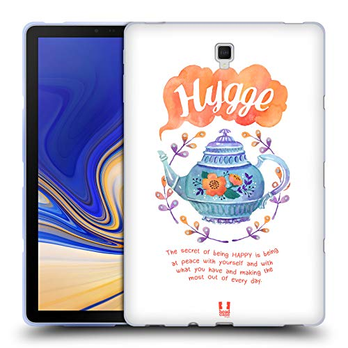 Head Case Designs Wasserkocher Hygge Soft Gel Hülle für Samsung Galaxy Tab S4 10.5 (2018)