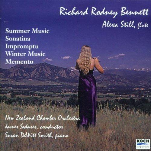 Richard Rodney Bennett: Summer Music; Sonatina; Impromptu; Winter Music; Memento by Richard Rodney Bennett (2000-10-24) (Memento 2000)
