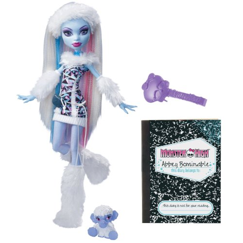 er High Puppe Abbey Bominable, Tochter des Yeti (Monster High Abbey Bominable)