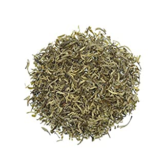 Weier-Tee-Chinesisch-Lose-White-Silver-Needle-Zitronig-Blumig-S-mit-kleinen-weien-Silberspitzen