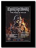 gasolinerainbows Iron Maiden - Shinedown - New Date Added - Book of Souls UK Tour Dates 2017. UK Magazine Promo auf einem schwarzen Berg
