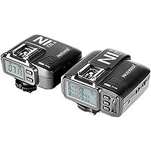 Neewer® N1T-C E-TTL 2.4G 32 Canales Disparador de Flash Inalámbrico (1*Transmisor + 1*Receptor) para Canon 5D Mark II/III,70D 60D 550D DSLR cámara, Estudio Flash y Flash Speedlite