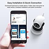 APEMAN 720P WiFi IP Camera Home Security Surveillance Camera Motion Detection with Night Vision Pan/Tilt Baby Monitor 2-Way Audio Support 128GB Micro SD Bild 2