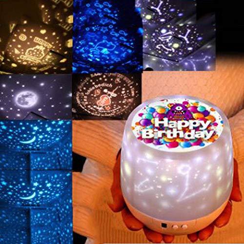 JING Color Magic Bohren - projektor Fantasy - Universum intelligente rotierenden Sternenhimmel leuchten LED nachtlicht Kreative USB - Lampe Standard-remote-lautsprecher