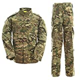 Noga Camouflage Combinaison Combat BDU Uniforme Militaire Uniforme BDU Chasse...