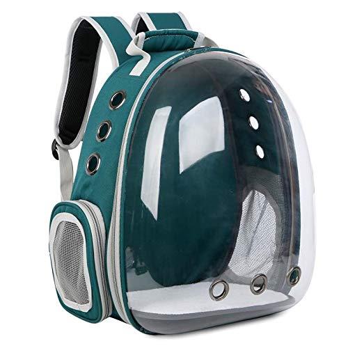KKA Collapsible Travel Food Storage Wasser Pet Bowl - Doggie - Welpentraining Walking Dispenser (Farbe : Braun) -
