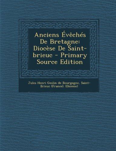 Anciens Évêchés De Bretagne: Diocèse De Saint-brieuc