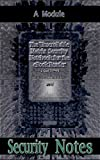 The Unscrollable Matrix Security Notebook for the eBook Reader, The NBsec17m Edition: A Module (English Edition)