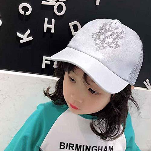 zhuzhuwen Pro-Licht Stück Cap Girl Sonnenhut Baseball Cap 1 48-52CM -